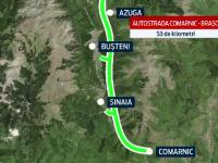 Autostrada lui Sfantu\' Asteapta. Cu o luna inainte de inceperea lucrarilor, bate vantul pe viitorul drum Comarnic - Brasov
