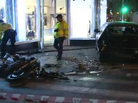 Accident spectaculos in Capitala. O tanara a