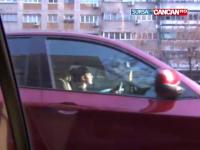 Dosar penal pentru fiica cea mare a lui Gigi Becali, dupa ce a lovit cu masina un barbat
