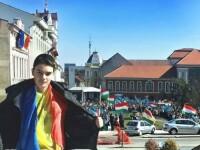 Mesajul unui elev maghiar, dupa ce baiatul cu tricolorul a fost amenintat: