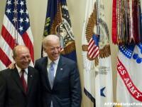 Inca o discutie cu americanii, despre Ucraina. Traian Basescu a vorbit la telefon cu vicepresedintele SUA Joe Biden