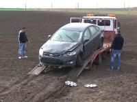 Speriat ca a dat cu masina peste un fazan, un sofer s-a izbit de un alt autoturism. Victima s-a ales cu rani grave