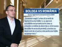 Romania ar putea fi executata din nou de CEDO. Mihail Boldea a dat in judecata statul roman pentru rele tratamente