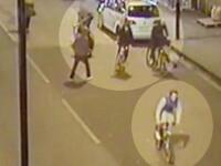Crima filmata. Un adolescent a fost injunghiat mortal in timp ce mergea cu bicicleta pe o strada aglomerata din Londra. VIDEO