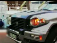 SUV-ul placat cu aur care costa cel putin 1 milion de euro. Cum arata bolidul complet blindat, cu geamuri anti-glont