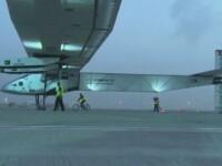 Aventura fara precedent. Un avion alimentat exclusiv cu energie solara a pornit intr-o calatorie in jurul lumii