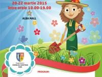 Venirea primaverii aduce la Alba Iulia cea de-a VII-a editie a targului gradinarului
