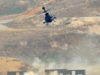 Un elicopter al armatei SUA s-a prabusit in timpul unui antrenament. 11 militari sunt dati disparuti