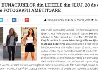 Topul celor mai frumoase eleve de liceu din Cluj sau cu ce se mai ocupa tinerii in timpul liber
