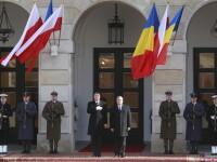 Klaus Iohannis, vizita oficiala in Polonia. Ce a discutat cu presedintele Komorowski despre Ucraina, NATO si R. Moldova