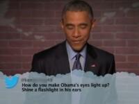 VIDEO Presedintele Obama citeste comentariile rautacioase postate pe retelele de socializare la adresa sa