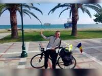 Europa se poate vizita pe bicicleta cu doar 260 de lei. Cum a reusit sa se descurce cu 3 euro pe zi un tanar din Bistrita