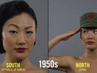 100 de ani de frumusete feminina in Coreea: Diferente dintre Nord si Sud. VIDEO