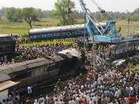 Tragedie in India. Un tren de calatori a deraiat, provocand moartea a cel putin 30 de persoane si ranirea altor 50