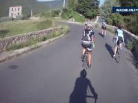 Aventura traita de noua romani pasionati de ciclism. Au parcurs cu bicicleta 1000 de km, timp de 11 zile, prin Pirinei