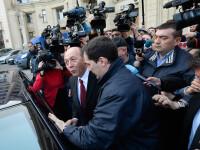 Traian Basescu a plecat de la Parchet, dupa doua ore de audieri. Fostul presedinte a spus ca nu se teme de lege
