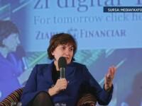 Una dintre cele mai puternice femei din Romania, cu capul plecat in fata judecatorilor. Irina Socol a colaborat cu DNA