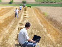 Gospodarii descopera avantajele platii taxelor pe Internet. \