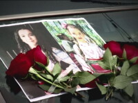 Cele doua surori ucise de tatal lor, in Olt, au fost inmormantate in costume populare. Ce spun medicii care l-au lasat liber