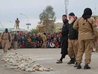 Imagini terifiante. Statul Islamic a ucis cu pietre doi tineri acuzati ca au avut relatii intime inainte de casatorie