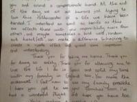 Scrisoarea care face inconjurul internetului. Ce a primit un pilot de la o pasagera inainte de decolare. FOTO