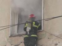 Panica intr-un bloc din Iasi, dupa ce un apartament a luat foc pentru a treia oara. Cine este vinovatul pentru incendii