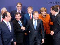 Premierul Ciolos, la summitul UE unde se cauta solutii pentru criza refugiatilor. Ce le-a cerut Turcia liderilor europeni