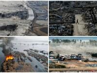 Cinci ani de la tripla catastrofa japoneza. Momentul in care tsunamiul ce apare o data la un mileniu a lovit tara. VIDEO