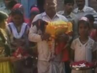 Nunta la care au participat 5000 de persoane in India.