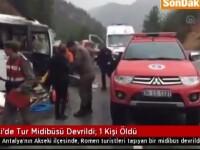Cine sunt cei doi romani care au murit in accidentul din Turcia. In ce stare sunt ceilalti 11 turisti internati in spital