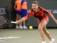 Simona Halep - Serena Williams, 4-6, 3-6. Romanca, eliminata in sferturile de la Indian Wells, pe care il castiga anul trecut