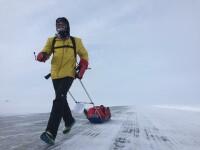 Tibi Useriu, marele castigator al ultramaratonului de la Polul Nord, e din nou in Canada sa isi apere titlul