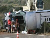 Tragedie in Spania. 13 studente Erasmus au murit dupa ce un autocar s-a rasturnat. Alte 43 de persoane au fost ranite