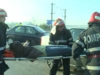 Coada de masini de 10 km pe centura Bucurestiului. Trei persoane au fost ranite dupa un accident