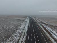 Romania are un nou segment de autostrada pentru prima data din 2015. L-au construit cei care au facut