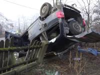 Accident grav din cauza cetii la frontiera cu R. Moldova. Unul din cei 5 raniti este un bebelus de 6 luni