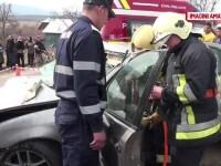 Accident rutier produs de un tanar care a incercat sa scape de politie. Ce avea de ascuns de nu a oprit la semnalul agentilor