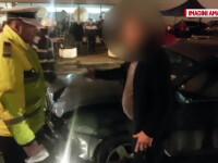 Reactia uluitoare a unui sofer beat oprit de politisti in centrul Ploiestiului.