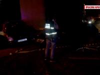 Patru masini au fost avariate si doi biciclisti au fost loviti de un camion, in panta. Ce uitase sa faca soferul