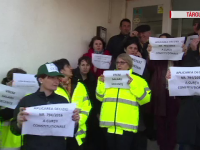 Angajatii Garzii de Mediu au facut greva timp de 2 ore fiindca nu li s-au marit salariile.