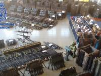 Depozit urias de armament ilegal, descoperit in Spania. Printre clientii traficantilor, jihadisti din Franta si Belgia