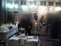 Scandal intr-un sat din Braila: mai multi localnici au primit consultatii medicale in biserica. De ce e acuzat preotul