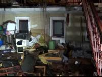 Principalul suspect in cazul exploziei care a distrus o vila din Galati este chiar proprietarul imobilului