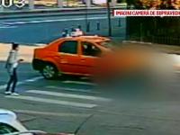 Doua eleve din Craiova, lovite de un taxi in drum spre liceu. Reactia lor dupa ce soferul le-a oferit 100 de lei ca sa taca