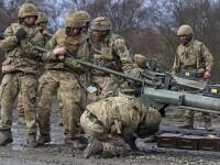 Primele trupe britanice au sosit in Estonia pentru a descuraja