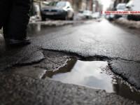 Banii pentru drumurile noi se duc pe despagubiri pentru pagubele produse de gropile vechi. Cine achita daunele