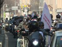 Zeci de motociclisti au participat la un mars pentru sustinerea bolnavilor de TBC.