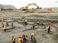 Comoara legendara a unui rebel chinez descoperita in albia unui rau. 1.000 de corabii pline s-ar fi scufundat acum 3 secole