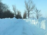 Locul din România unde zăpada măsoară 174 de centimetri. Avertismentul meteorologilor