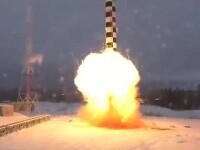 Satan 2: Rusia a testat racheta care poate atinge teritoriul continental al SUA